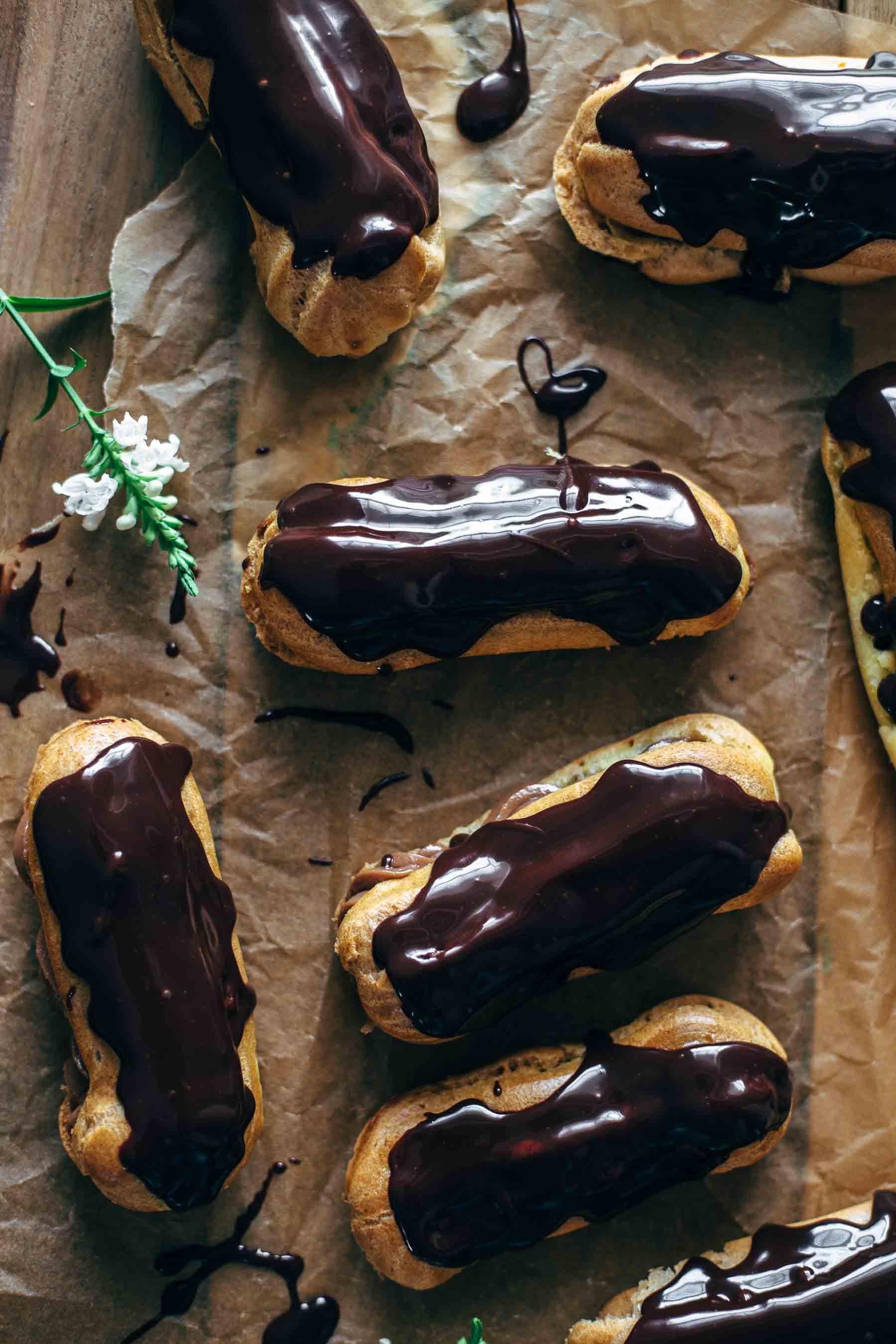 Best Homemade Chocolate Eclairs