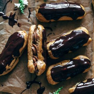 Best Homemade Chocolate Eclairs