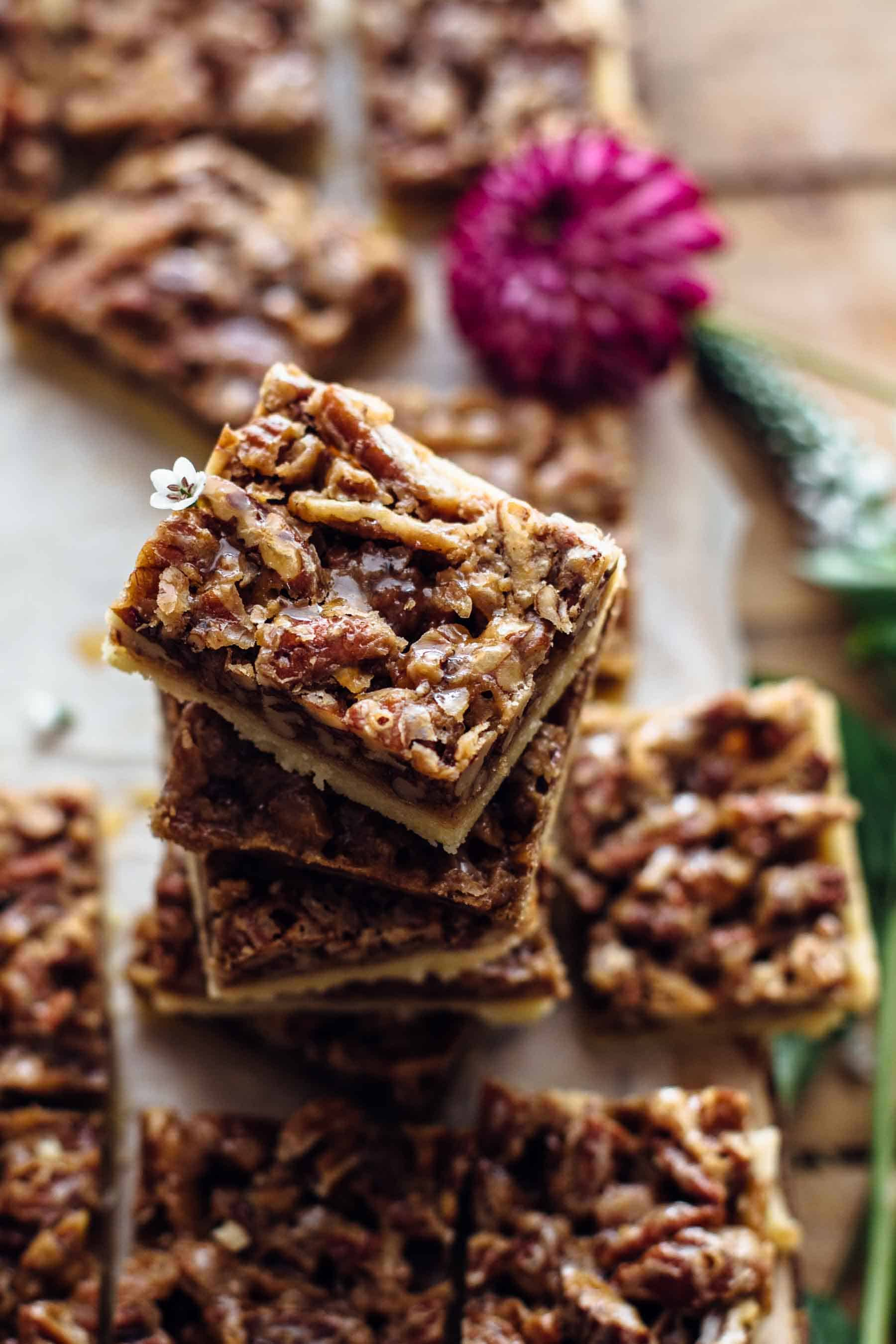 Pecan Pie Shortbread Bars Recipe