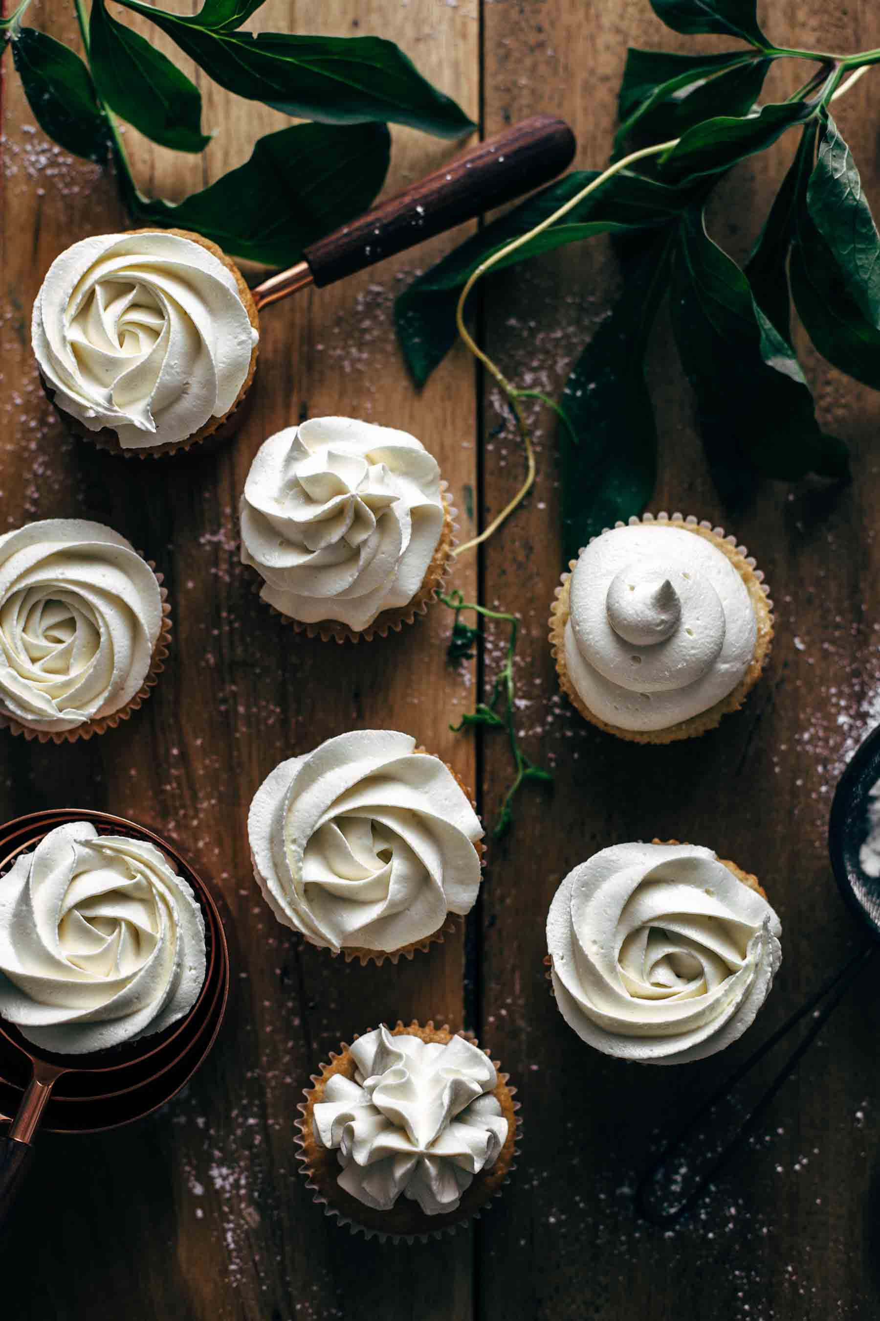 White Chocolate Cupcakes with White Chocolate Frosting Recipe