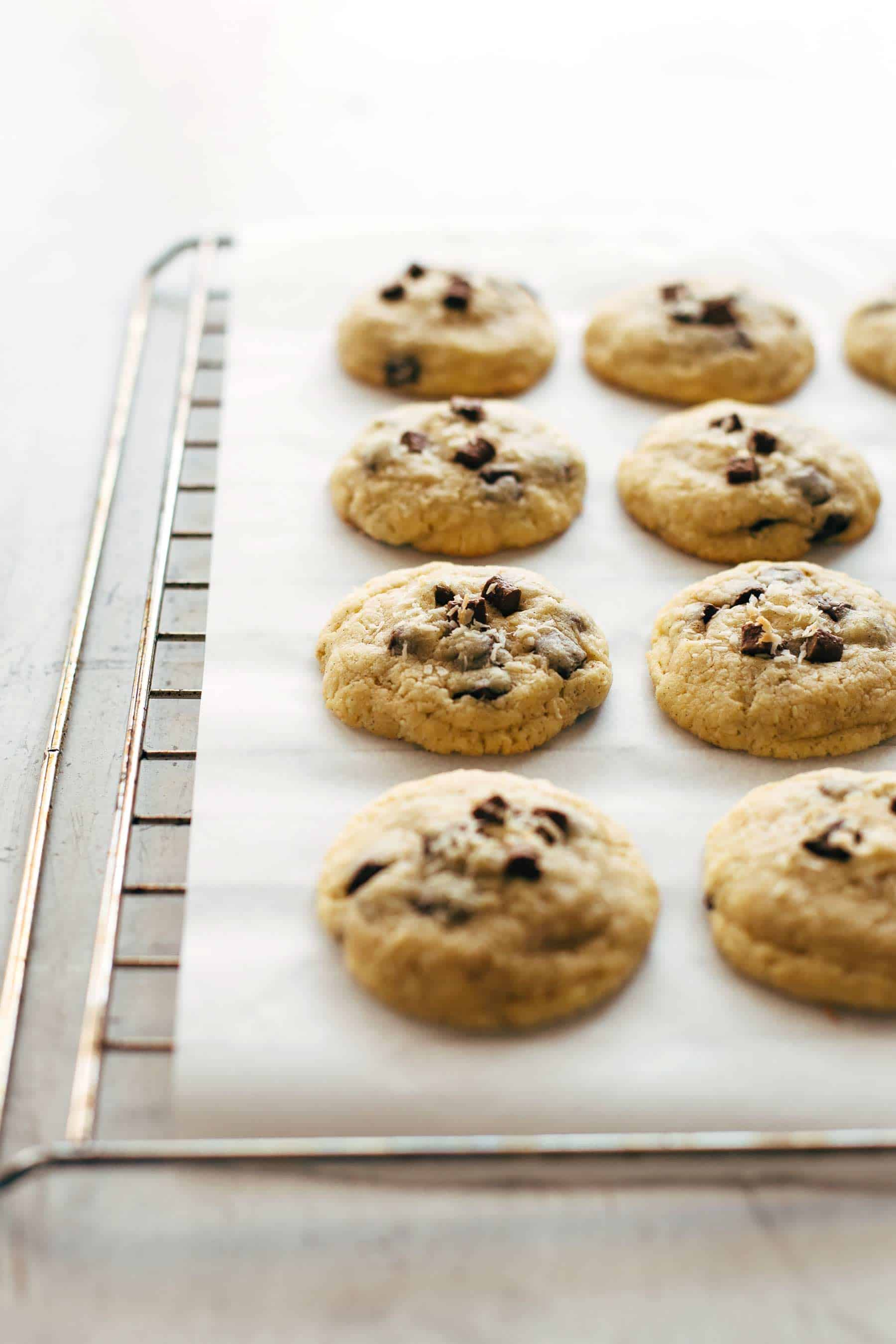 Coconut Caramel Chocolate Chip Cookies