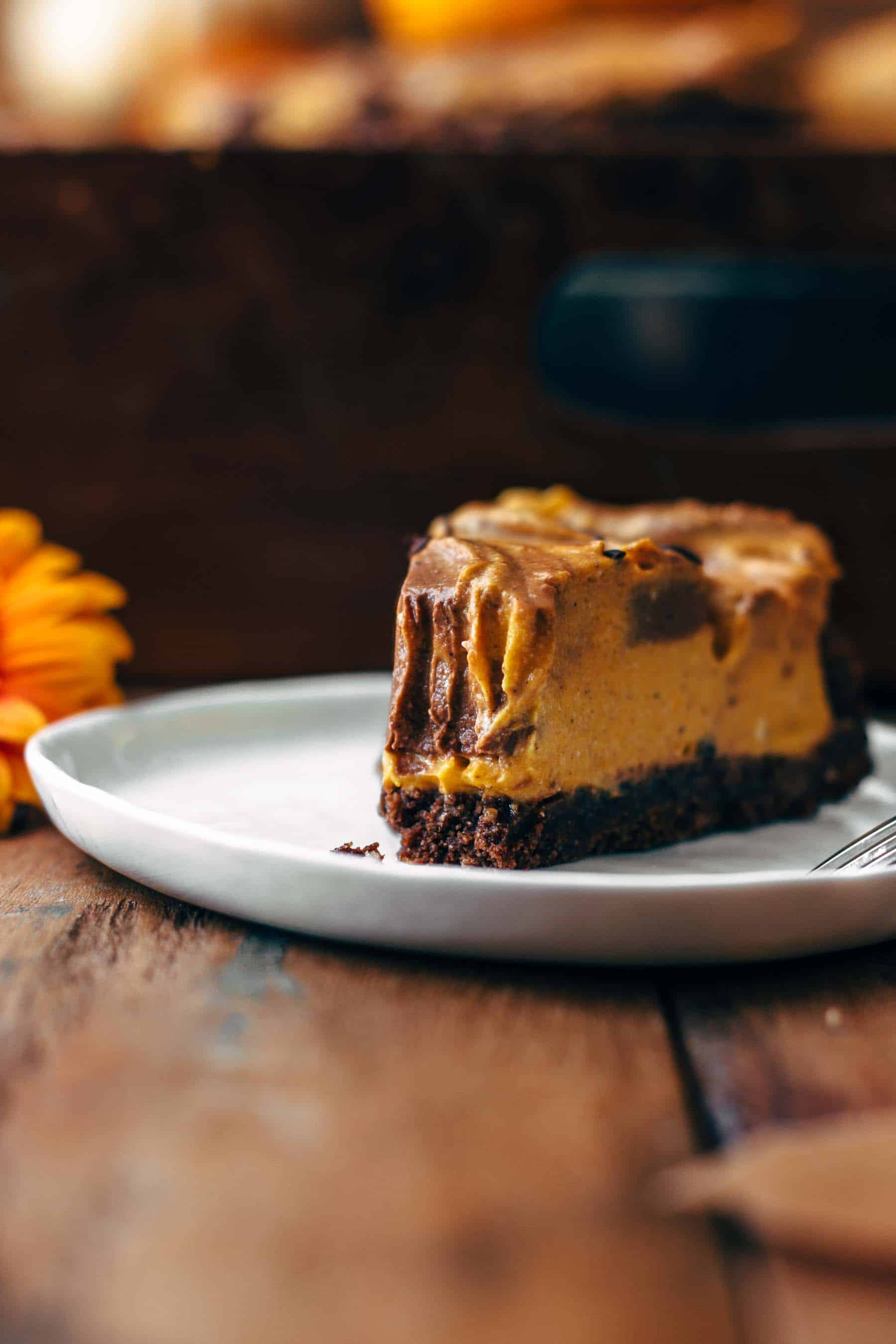 No-Bake Pumpkin Chocolate Pie Recipe