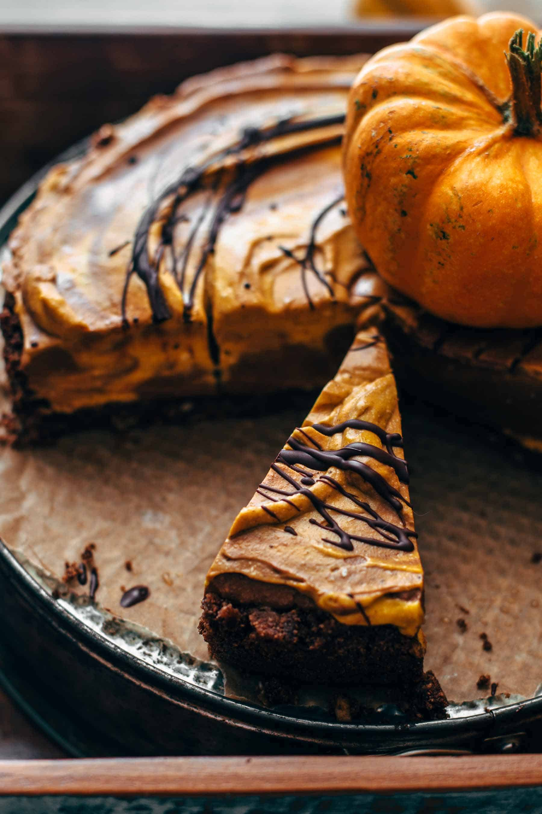 No-Bake Pumpkin Chocolate Pie Recipe