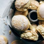 Coconut Cream filled Baked Yeast Donuts Recipe