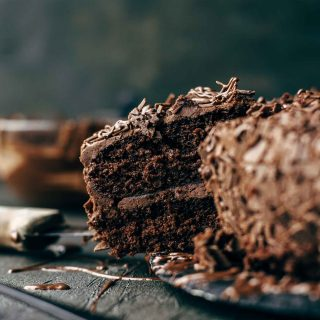 Soft and moist Triple Chocolate Cake