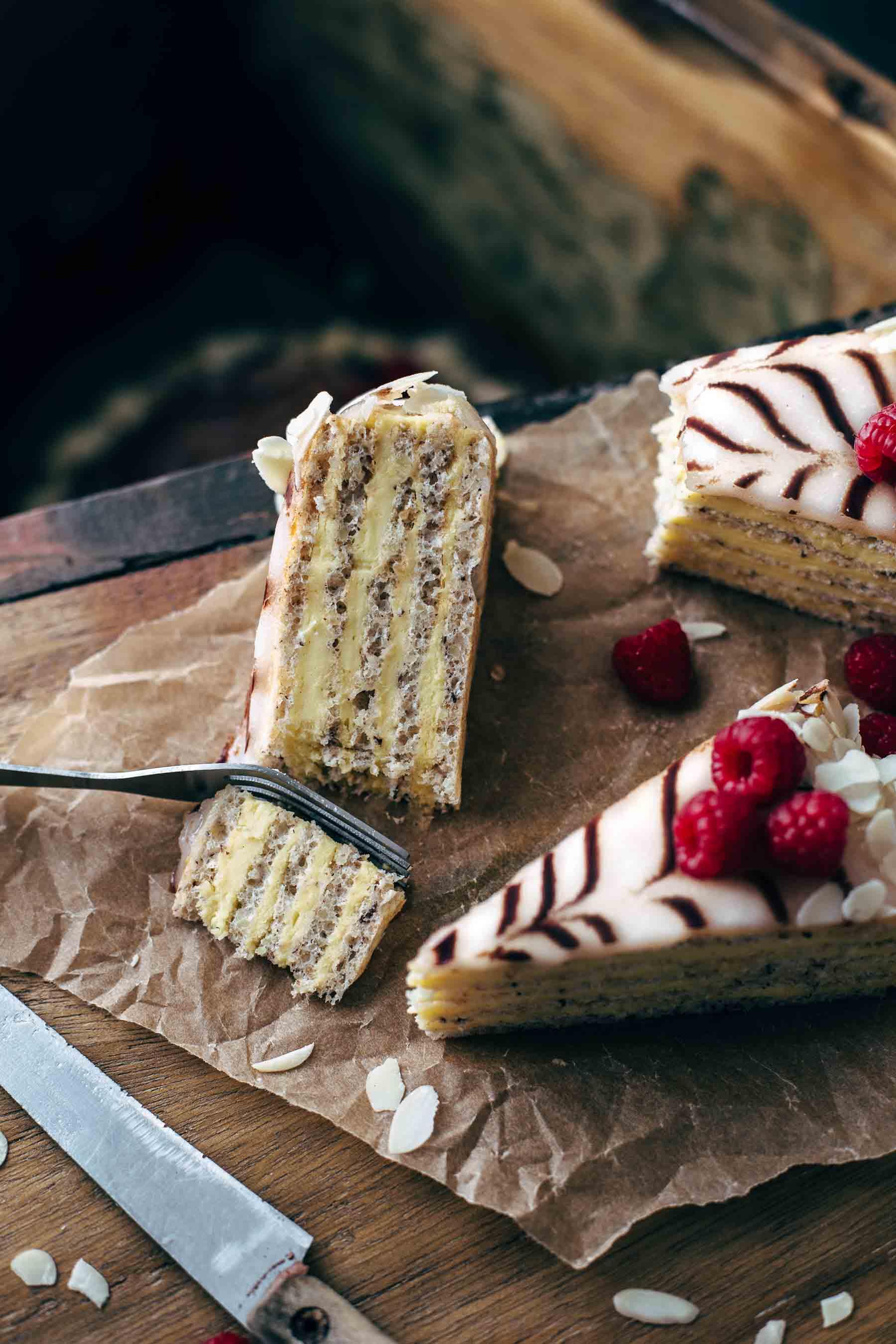 Hungarian Esterházy Torte Recipe