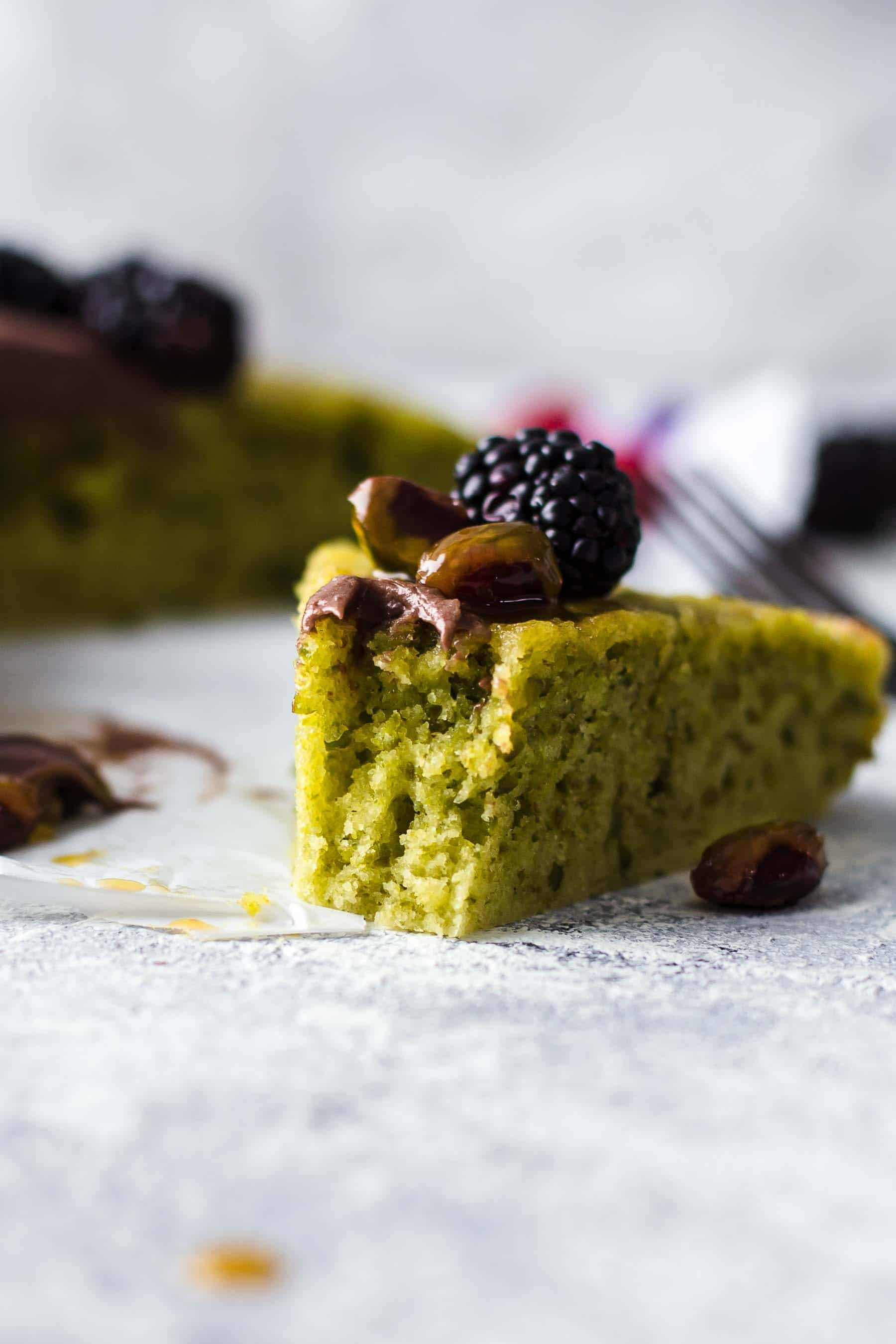 Bitten Pistachio Cake
