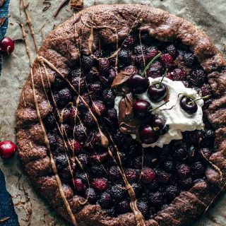 Chocolate Cherry Galette Recipe
