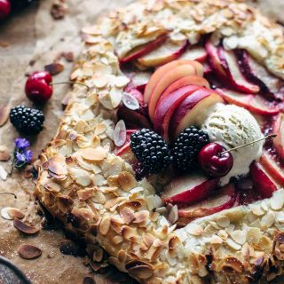 Almond Peach Galette Recipe