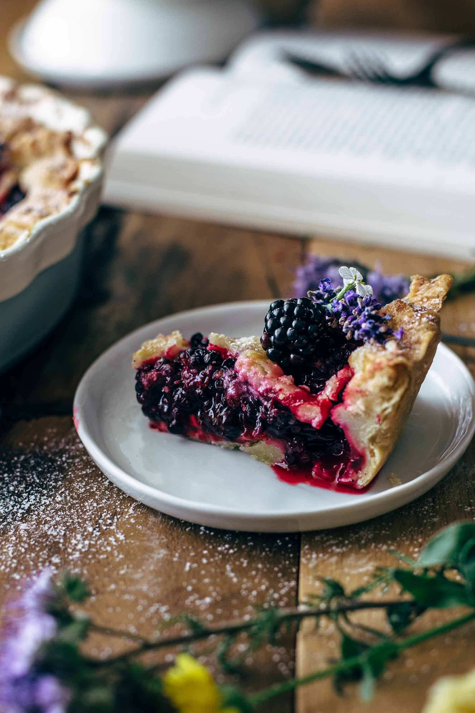 Blackberry Pie Recipe From Scratch