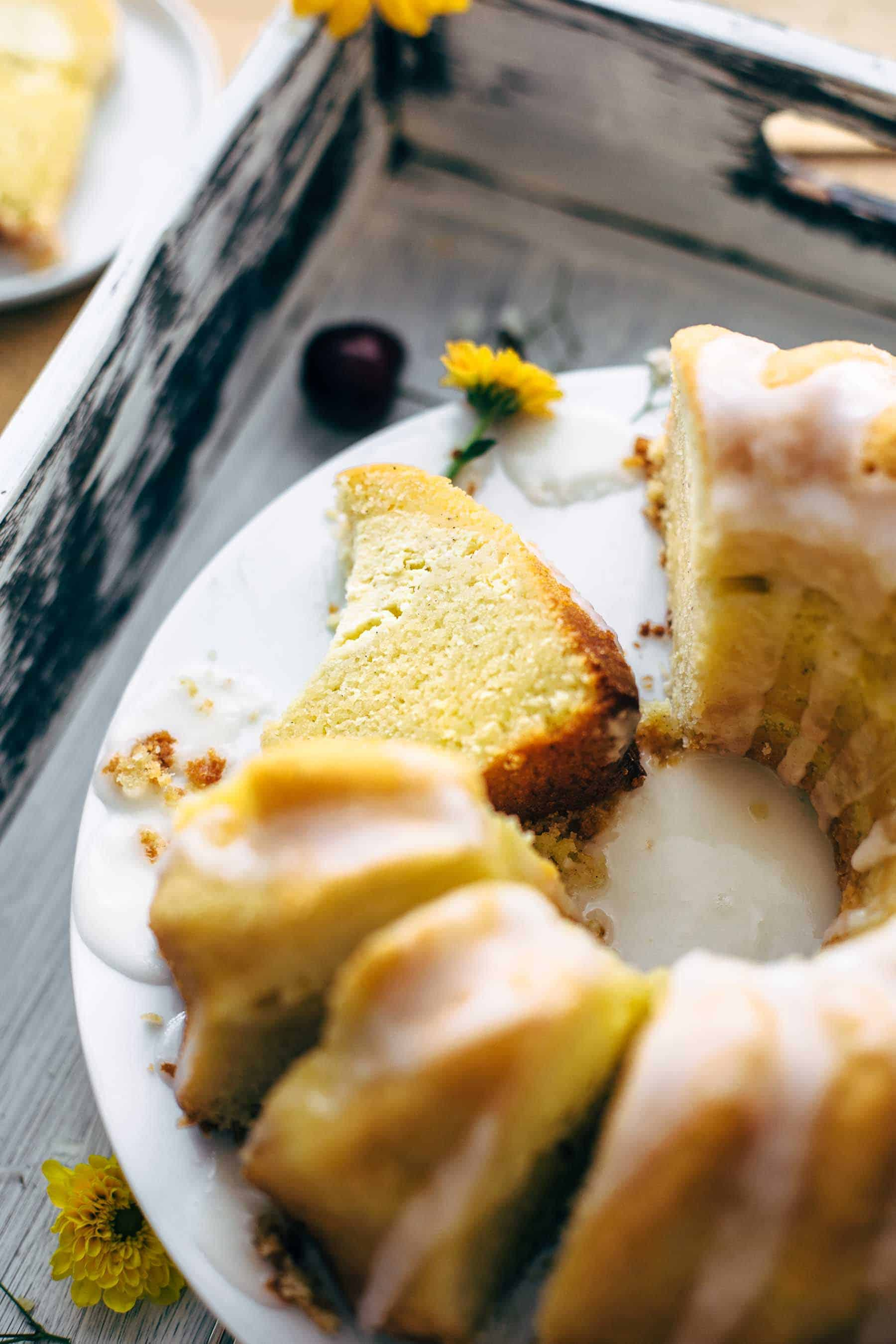 Cream Cheese Swirled Lemon Bundt Cake Recipe