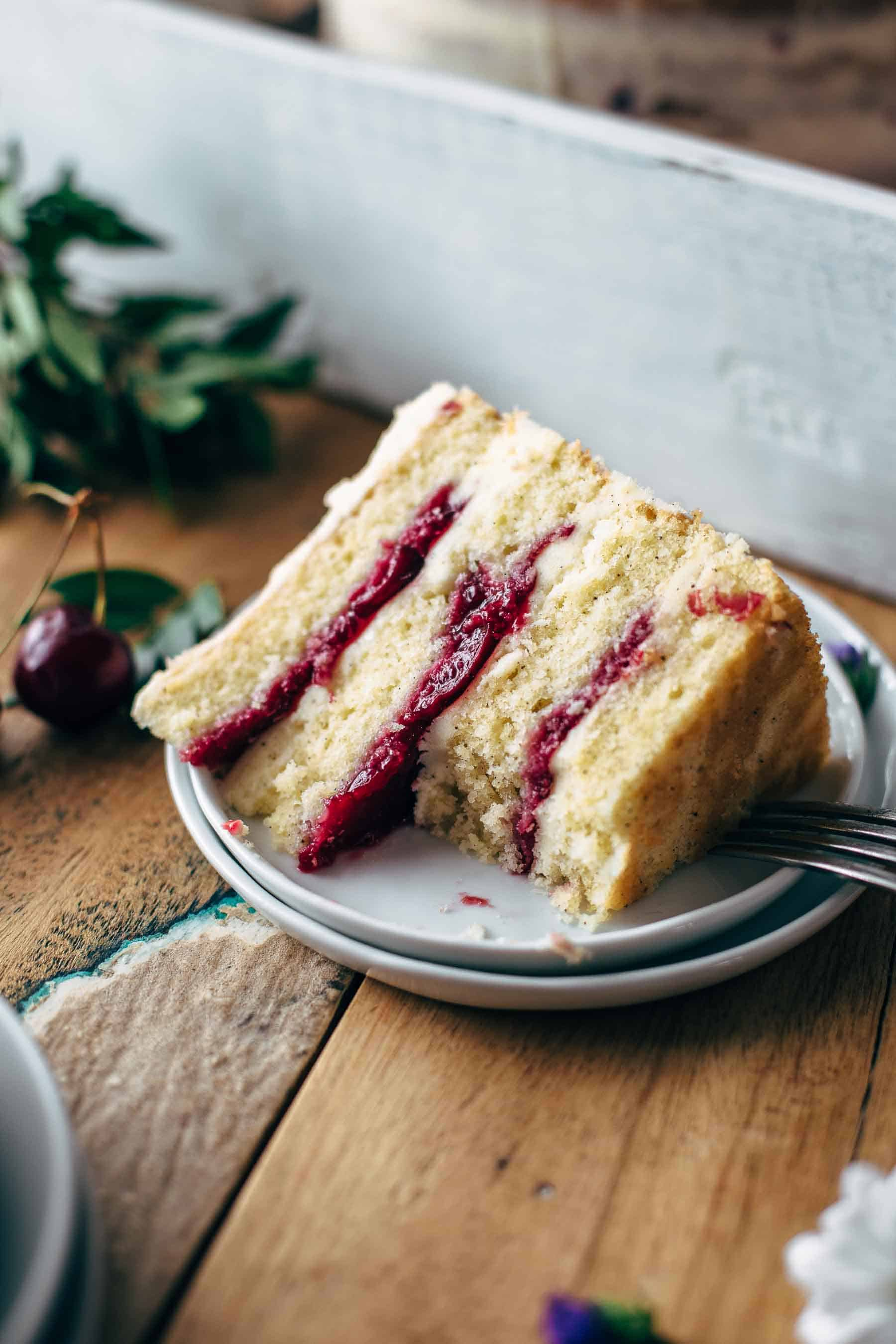 Fresh Cherry Cake Recipe From Scratch