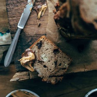 Chocolate Peanut Butter Banana Bread Recipe