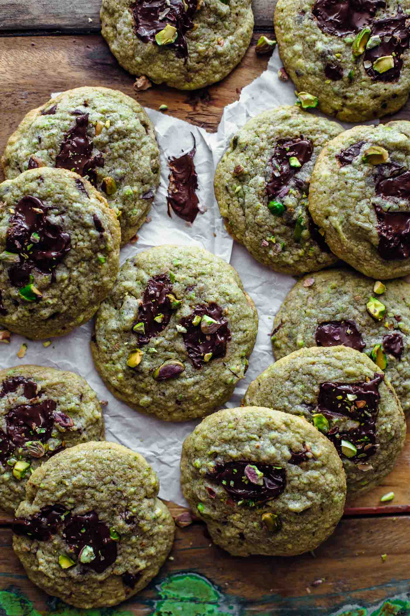 Chocolate Pistachio Cookies Recipe