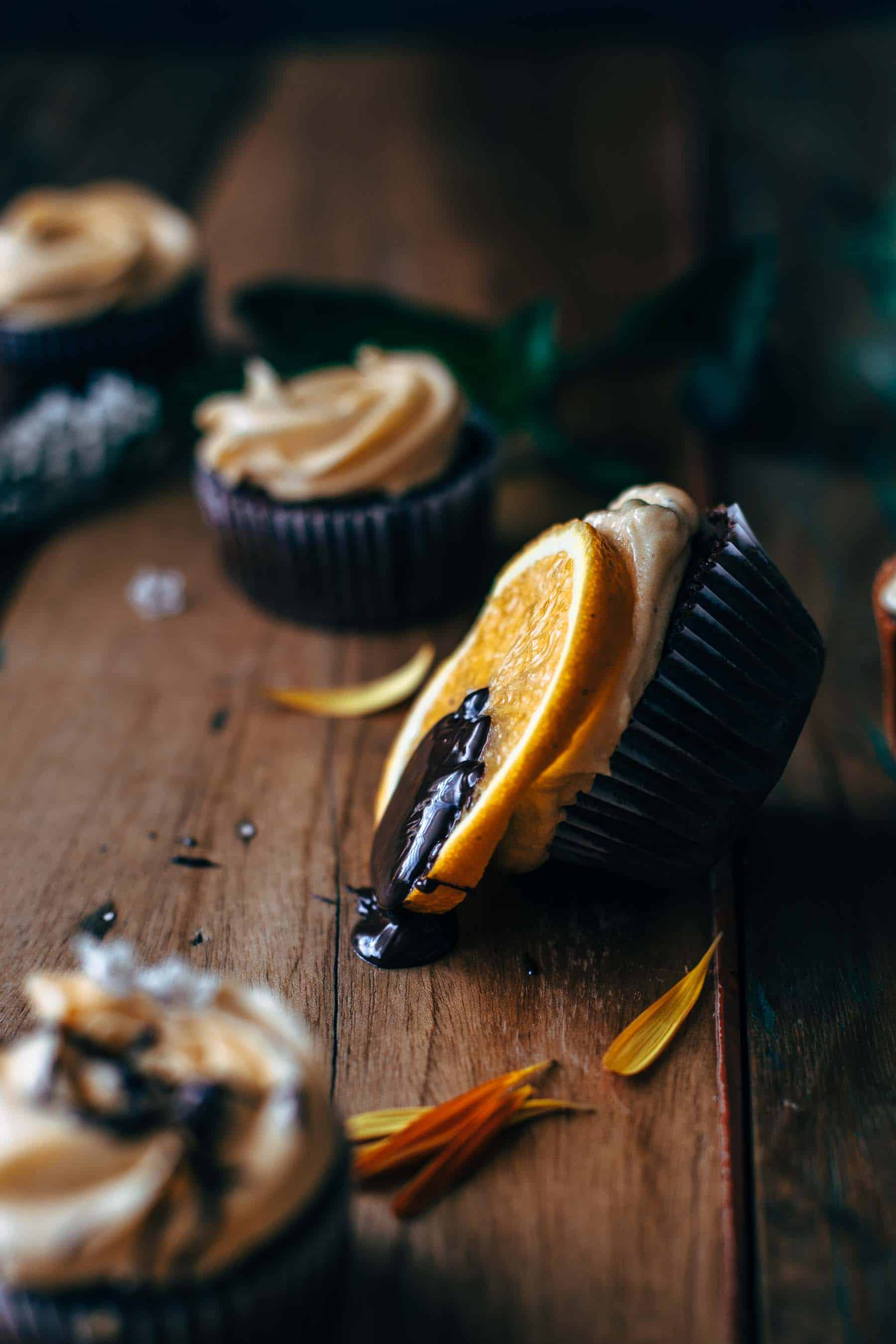 Dark Chocolate Orange Cupcakes Recipe