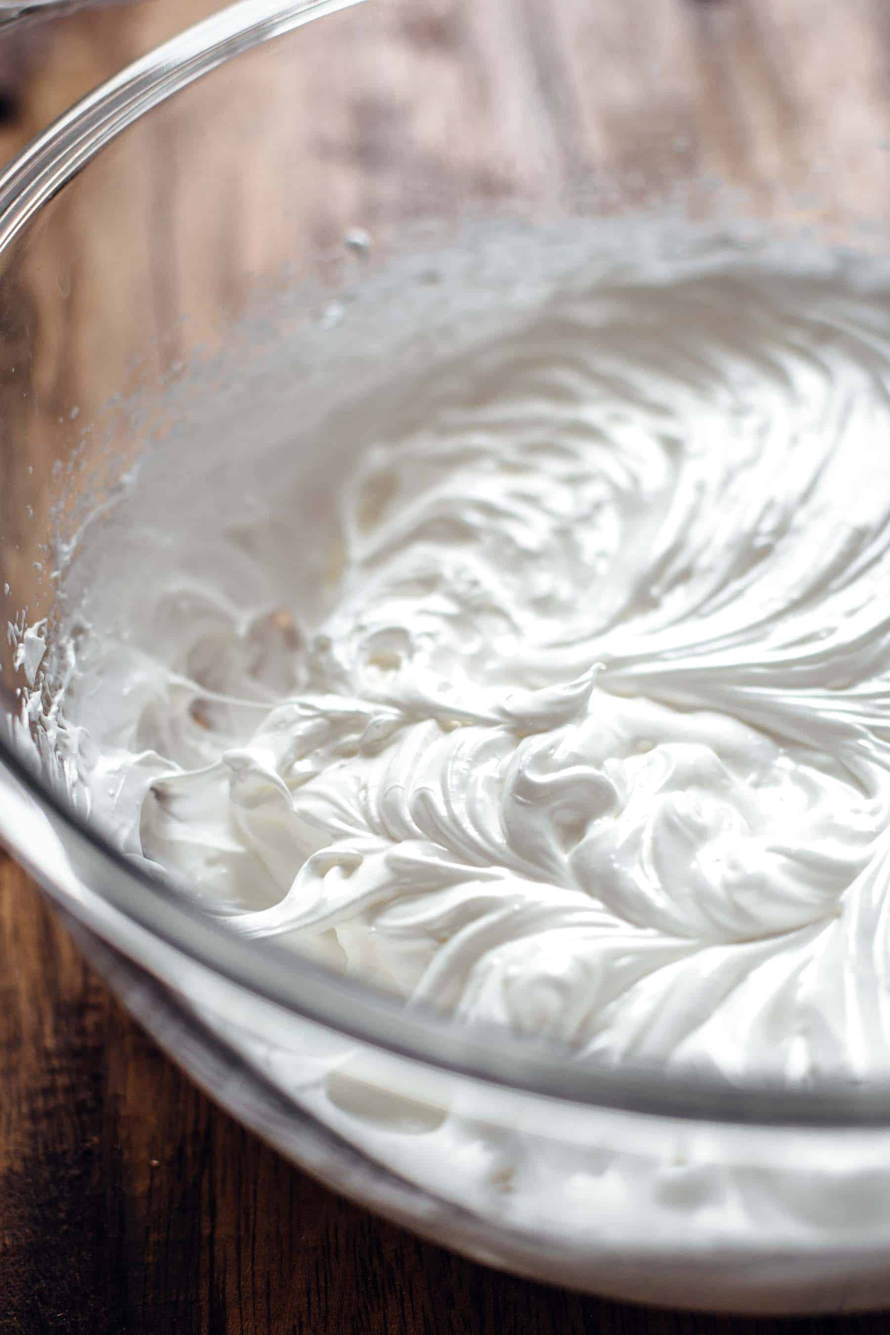 Marshmallow Meringue for Sweet Potato Cheesecake Recipe
