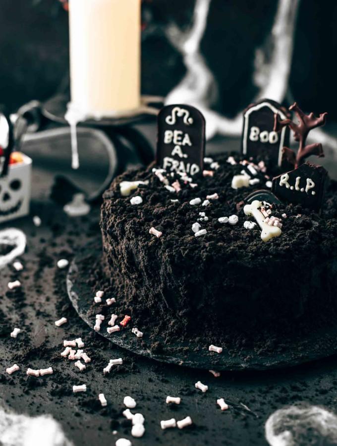 Death-By-Chocolate Halloween Cake Recipe