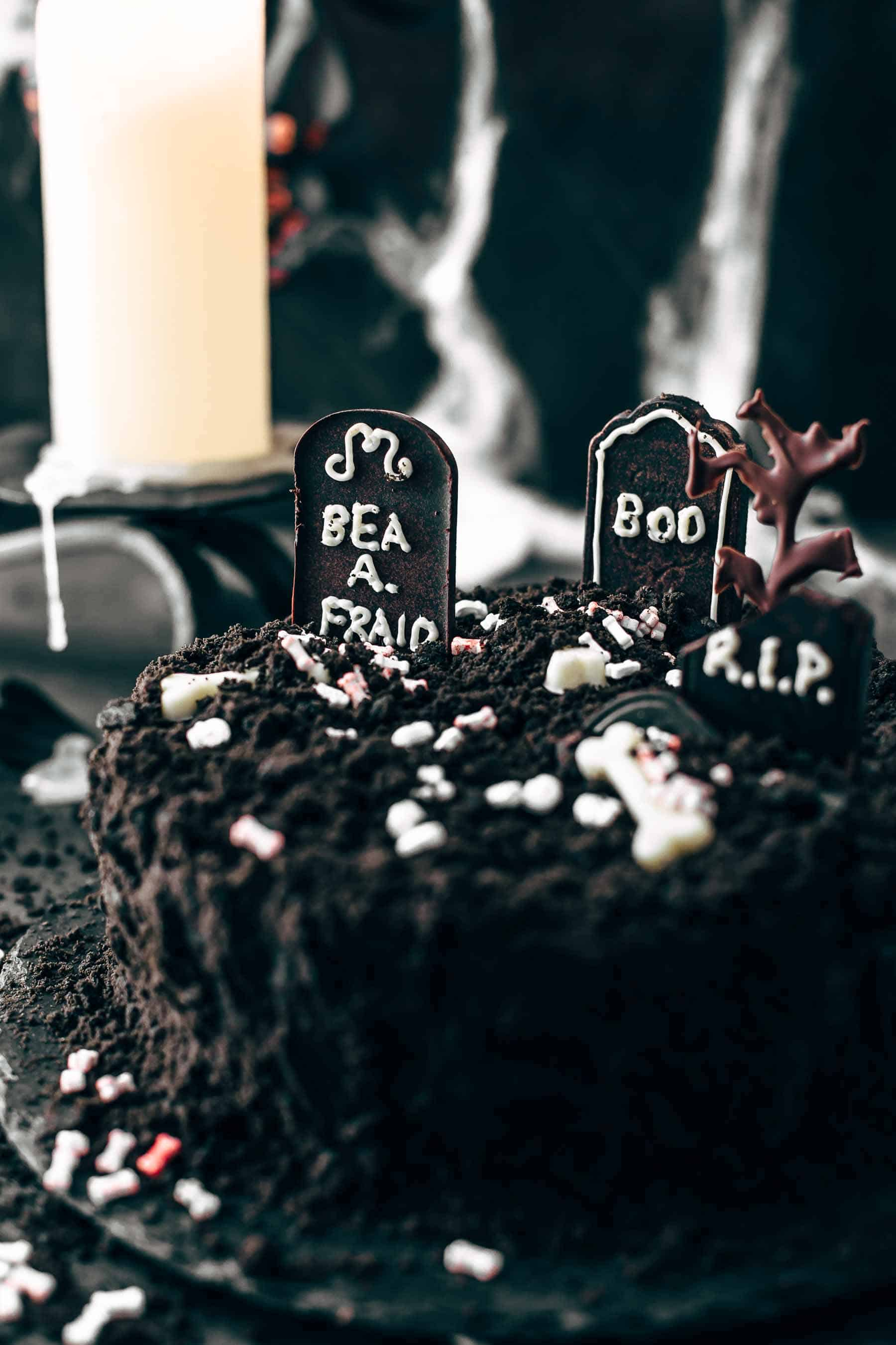 Death-By-Chocolate Halloween Cake Recipe