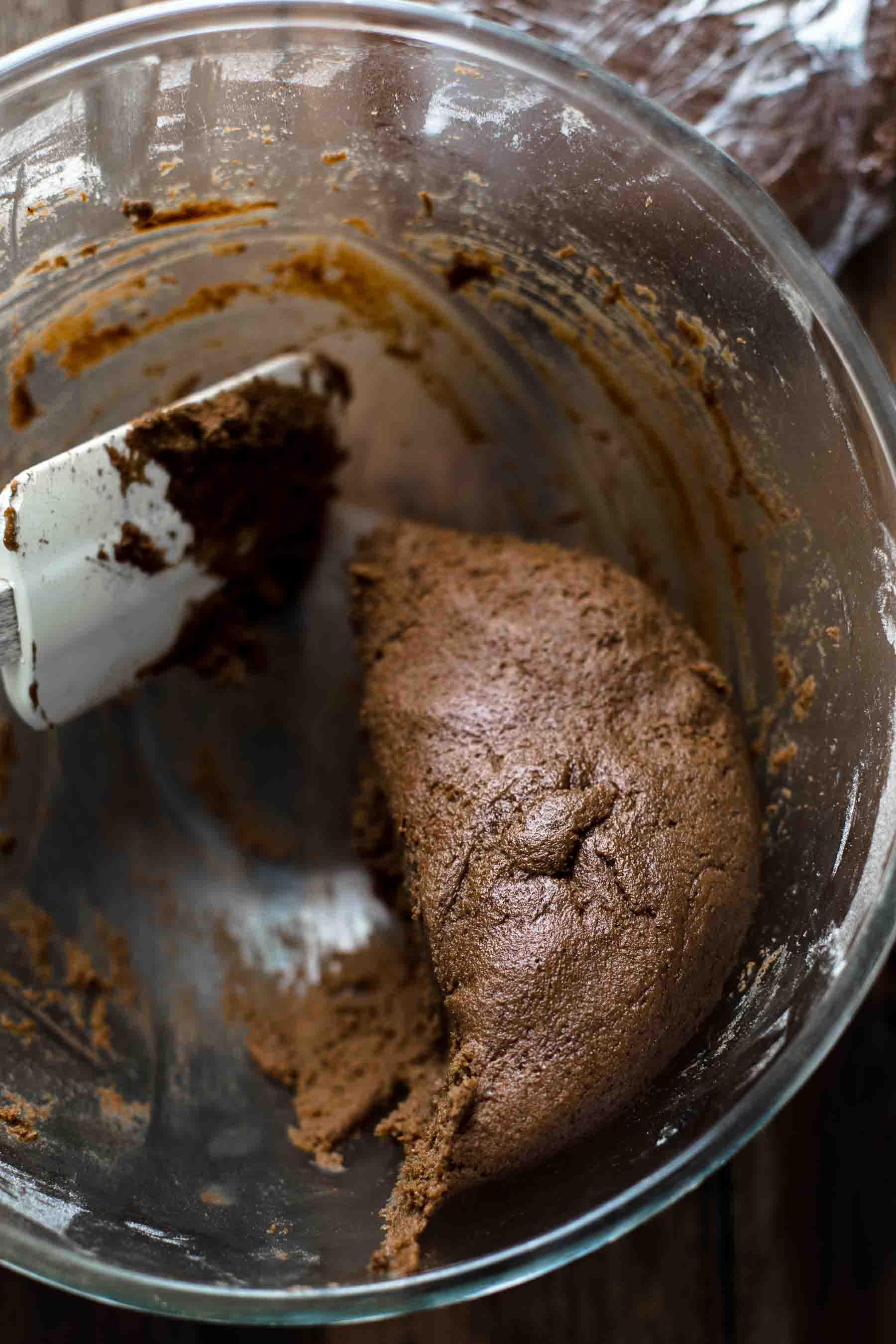 Chocolate Gingerbread Men Cookies