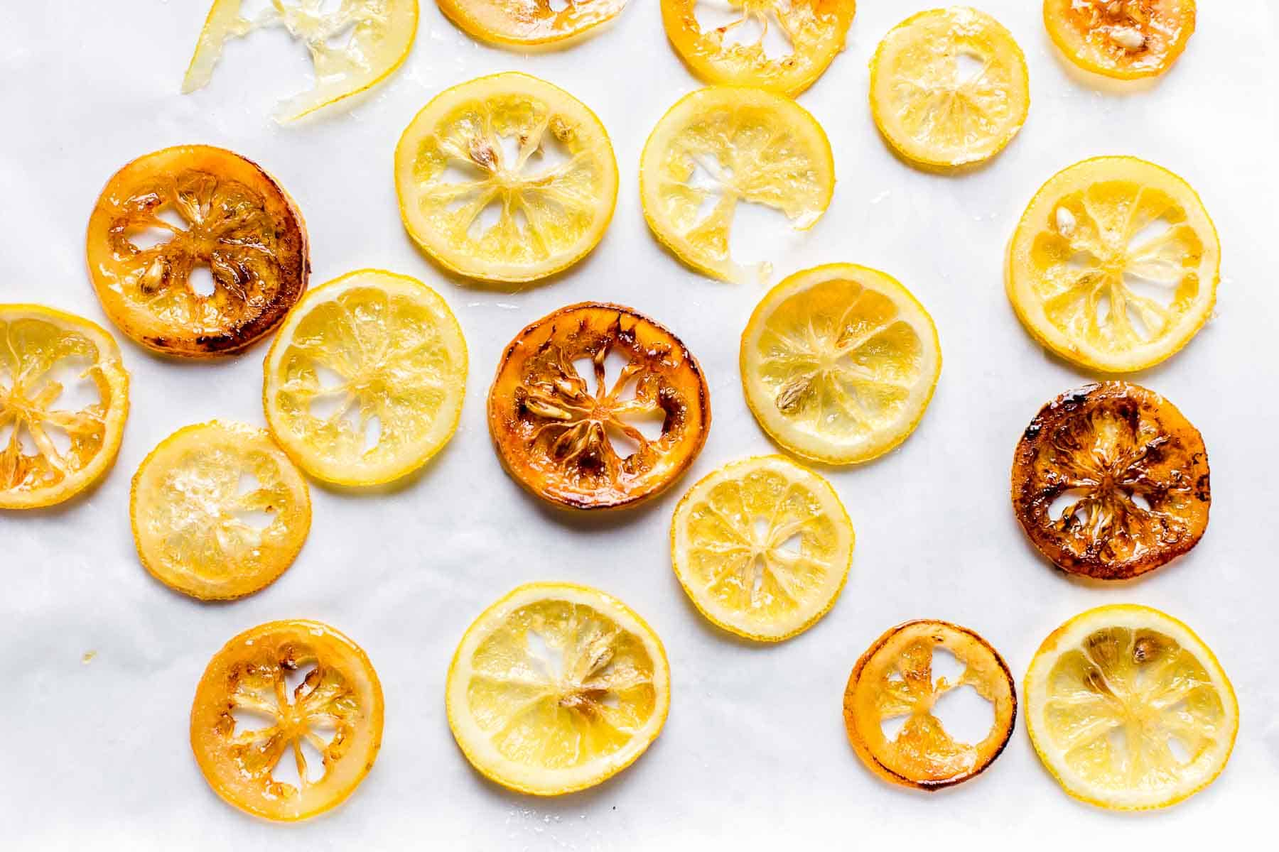 candied lemon for decoration