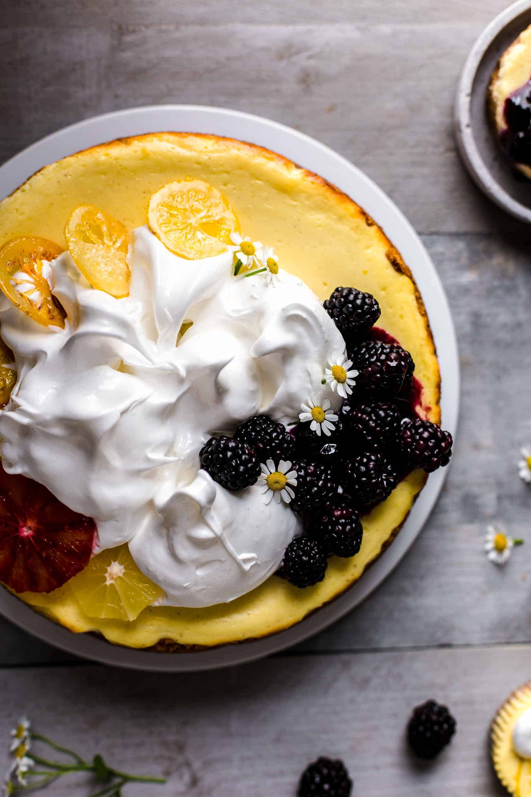 How to decorate Lemon Cheesecake