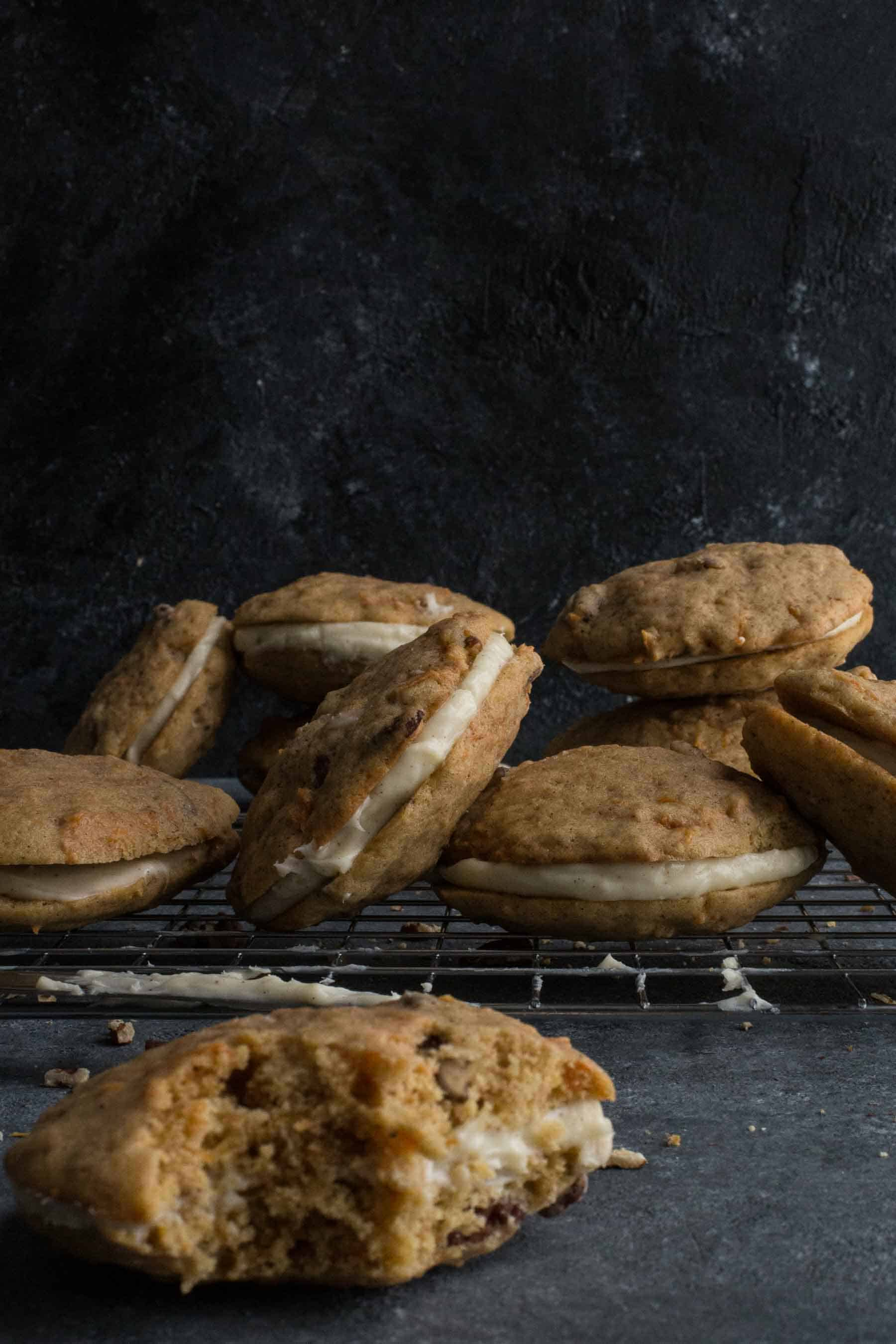Photos of cookies with Aperture f/22
