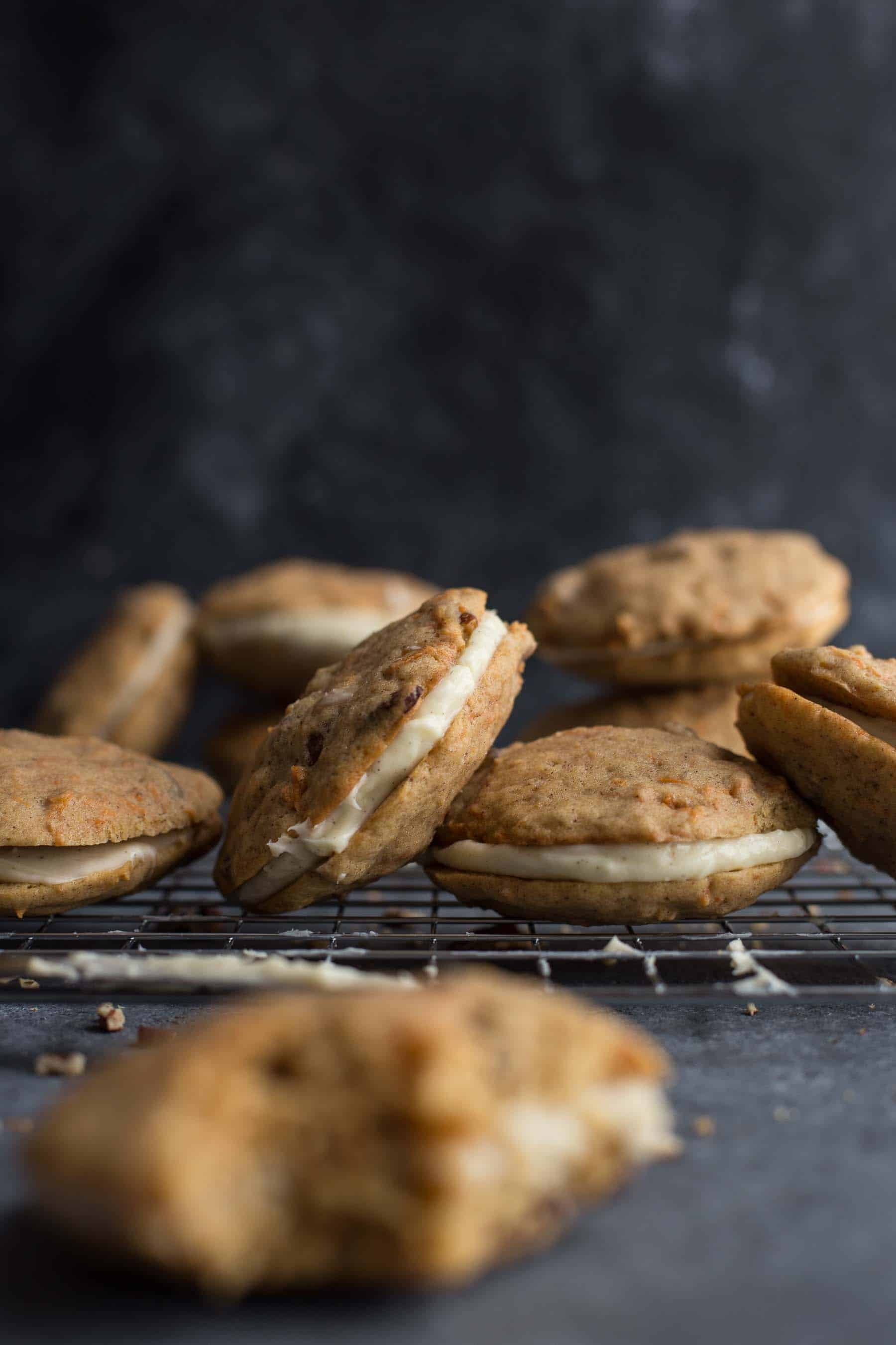 Photos of cookies with Manual White Balance 5450