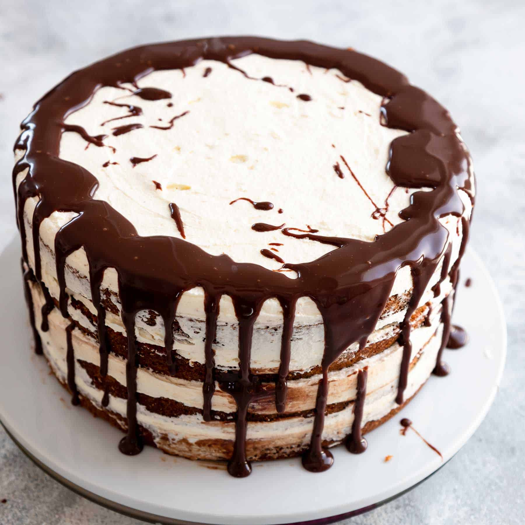 decorating smores cake