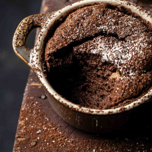 Easy Chocolate Soufflé Recipe
