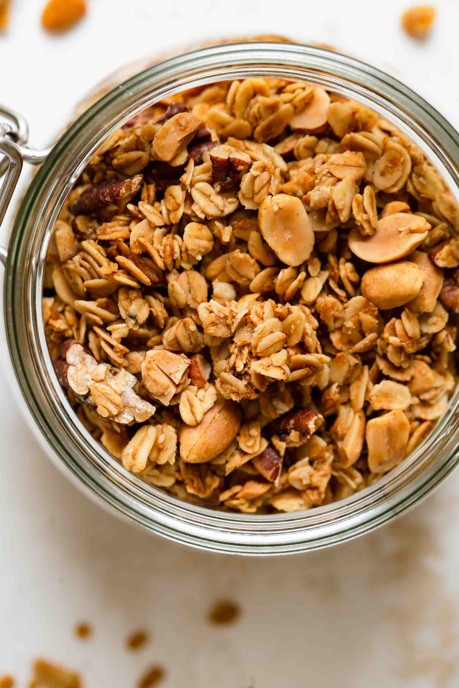 ready to eat granola in jar